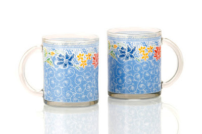 Glass Mug Pesisir Biru