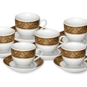 Gmg 5312 Cup & Saucer (12 pcs) Parang Ayu