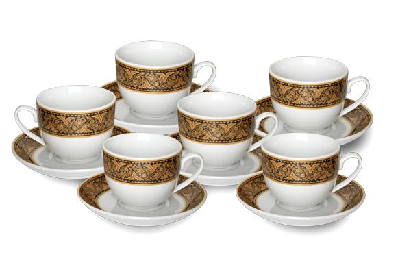 Cup&Saucer (12 pcs) Parang Ayu