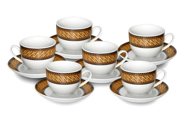Cup&Saucer (12 pcs) Parang Muncul