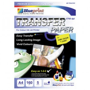 Blueprint Dark Transfer Paper BP-TKA4160