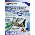 Blueprint transfer paper untuk t-shirt terang