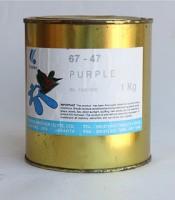 Cat Coates Purple Kaleng