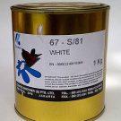 Warna sablon gelas Coates White