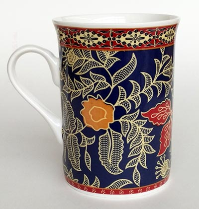 Mug Bone Batik Anggun