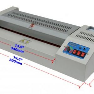 Mesin Laminating LAMINATOR + Handle A3 ( Merah )