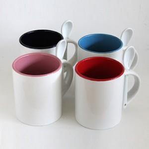 Mug sendok warna dalam ( standard import )