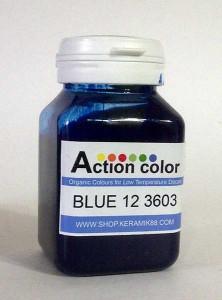 Cat Action Colour Blue