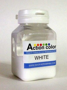 Cat Action Colour White