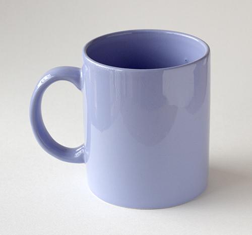 Mug Warna Violet Muda