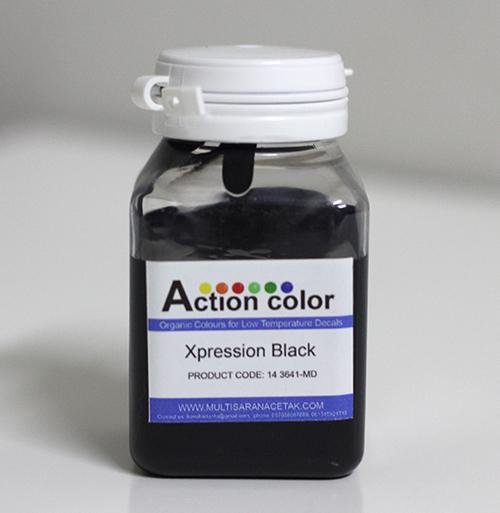 Cat Action Colour Hitam