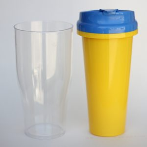 Tumbler insert paper Yellow ( Cover Blue )