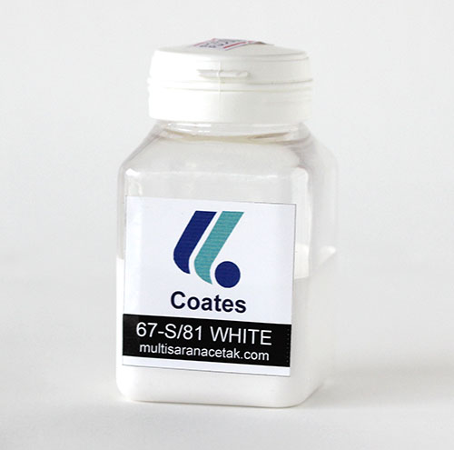 CAT GELAS COATES WHITE