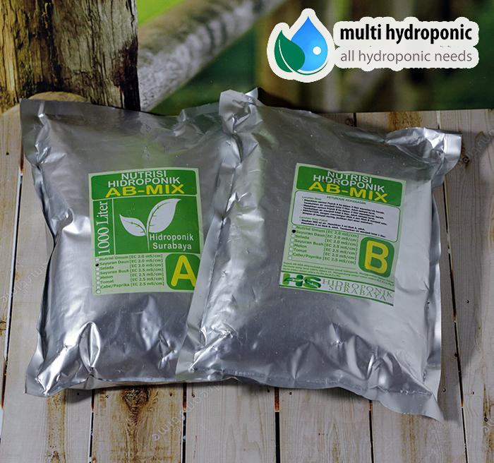 Nutrisi AB-mix sayur Hidroponik