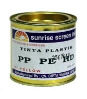 Tinta Sablon Plastik PP PE HD Yellow