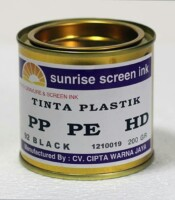 Tinta Sablon Plastik Hitam