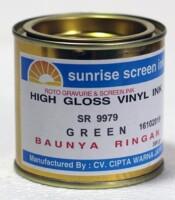 Tinta Sablon Vinyl Green