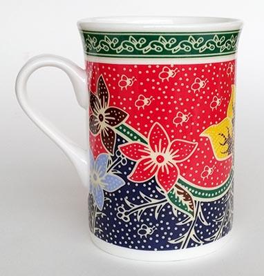 Mug Bone Batik Amanda