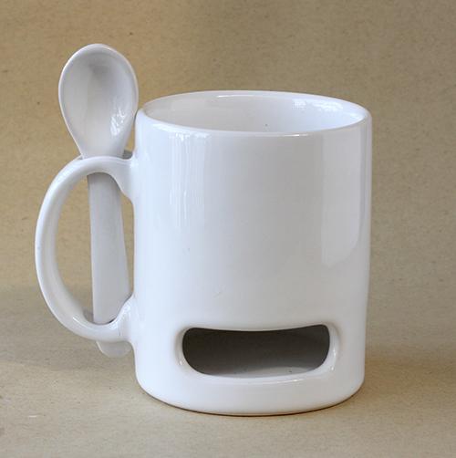 Mug Keramik Sendok Cookies