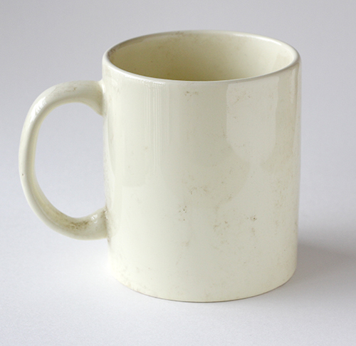 Souvenir Mug Warna Cream
