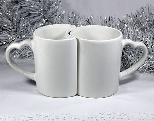 Mug Couple LOVE Coating
