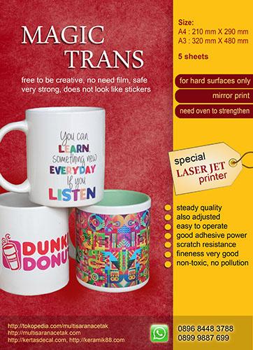 Kertas Magic Trans A4