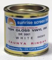 Tinta Sablon Vinyl White