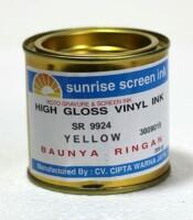 Tinta Sablon Vynil Yellow