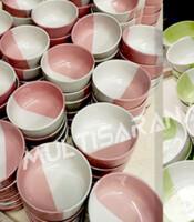 Mangkok Keramik Two Tone